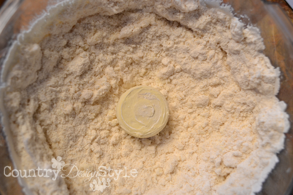 pastry flour like oatmeal country design style