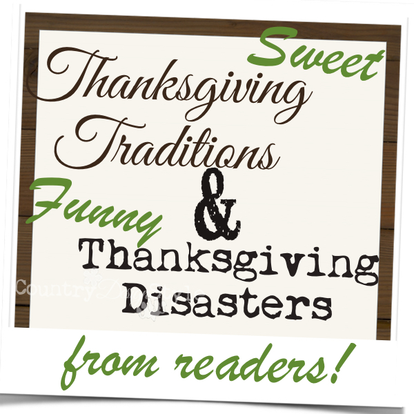 Traditions and Disasters