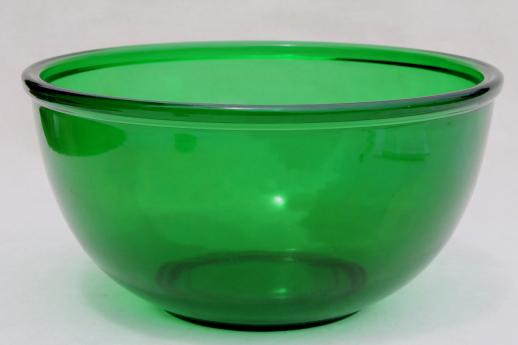 vintage-forest-green-glass-mixing-bowl-large-Anchor-Hocking-kitchen-glass-bowl-Laurel-Leaf-Farm-item-no-s62366-1