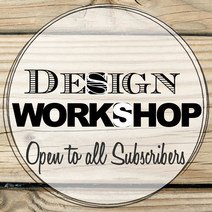 Design Workshop Logo Sq | Country Design Style | countrydesignstyle.com