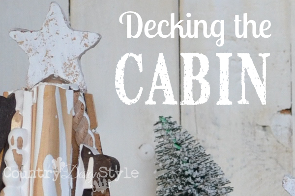 decking the cabin country design style fp - Cabin Style Christmas Decorations