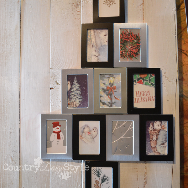 diy dollar store gift country design style 4 - Dollar Store Frames