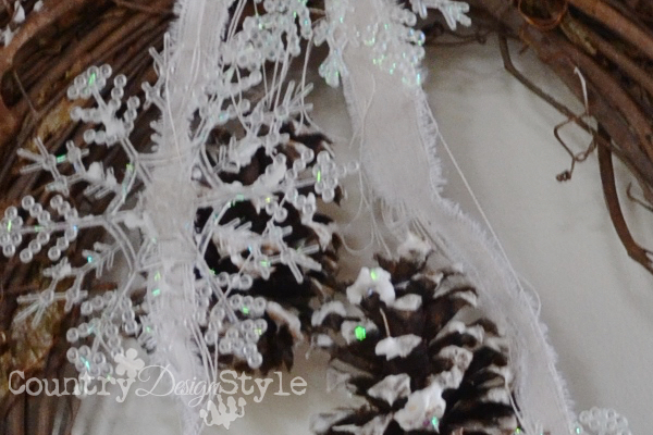 December Wreath and Ivory Snow