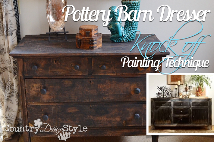 Pottery Barn Painting Country Design Style Fp