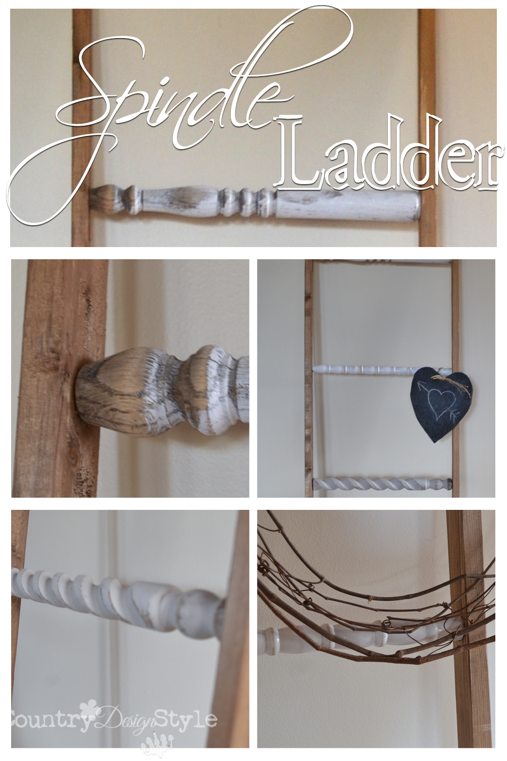 Spindle-ladder-close-up-county-design-style-pn4