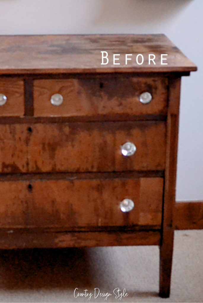 Furniture Makeover Painting Techniques Update Country Design Style