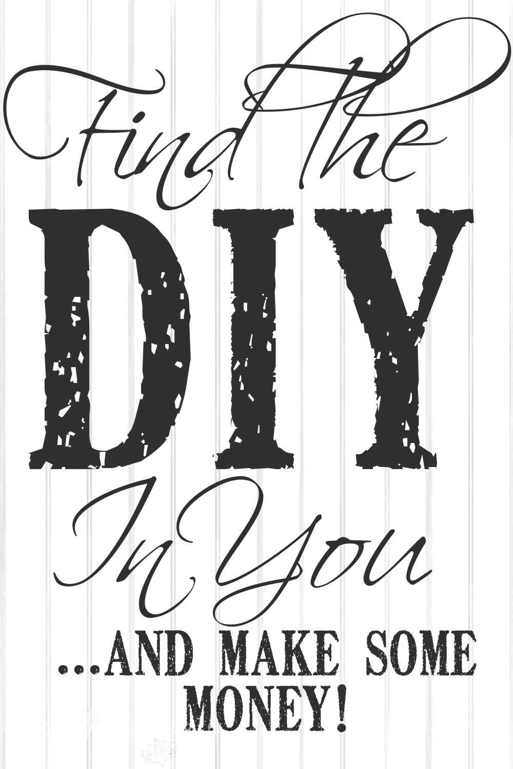 Sellable products you can make country design style for Diy to make money