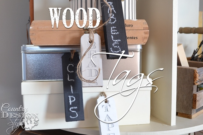 Wood Tags and NO Headaches!