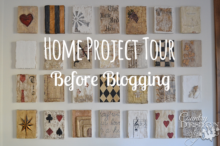 Home Project Tour Before Blogging
