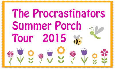 Summer porch tour