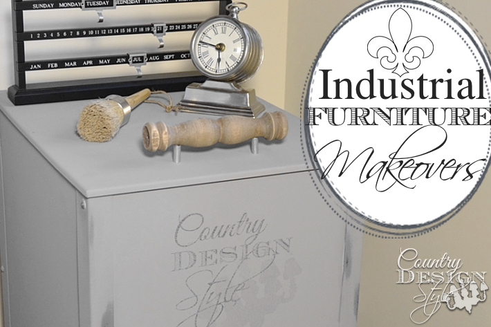 Industrial Furniture Makeover