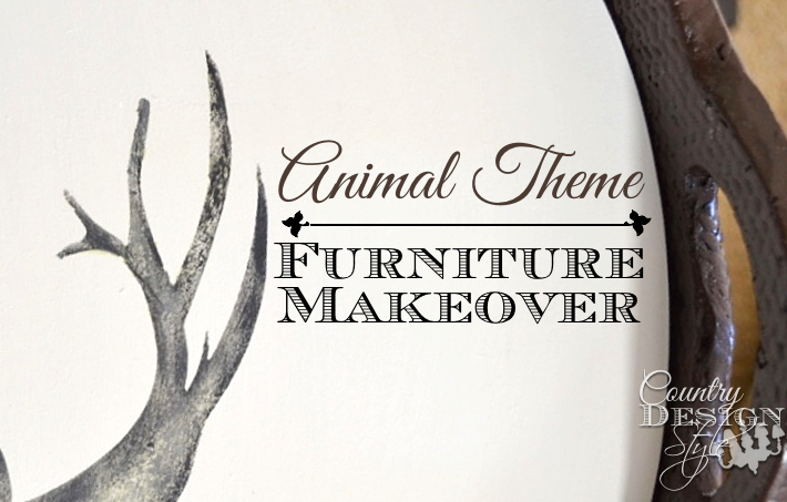Animal Theme Furniture Makeovers