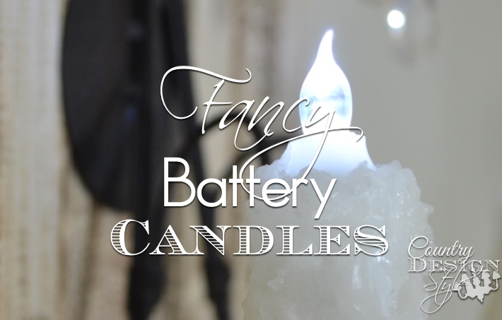 Fancy Battery Candles