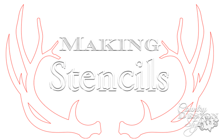 How to make stencils from jpeg