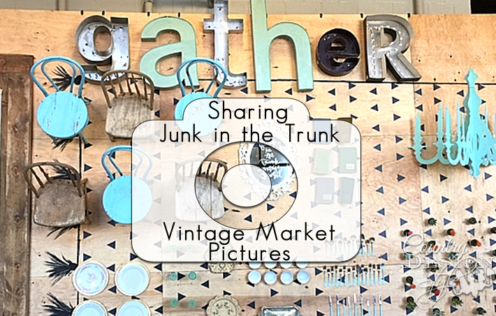 Sharing Junk in the Trunk Vintage Market Pictures