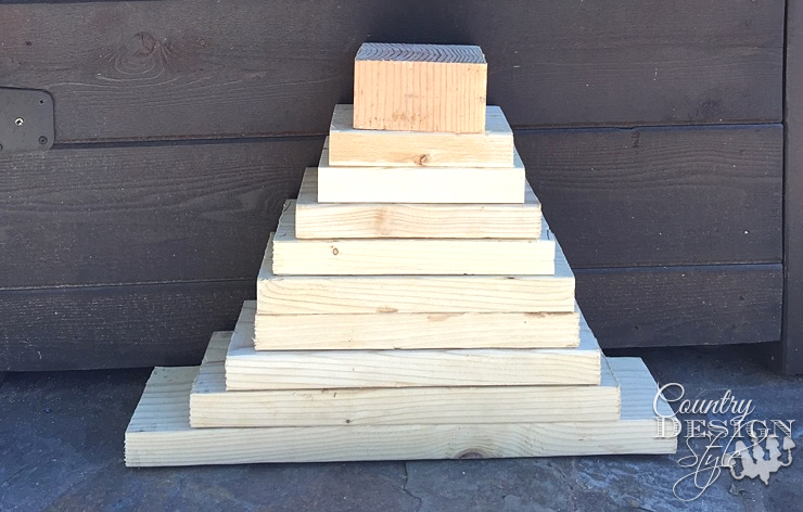 country-design-keeping | countrydesignstyle.com stack of wood