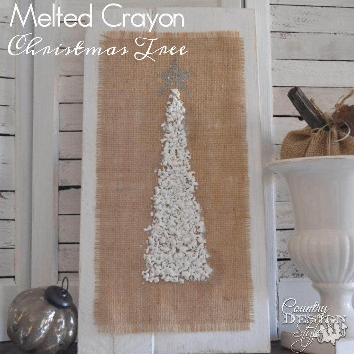 The Best of 2015 and the Worst | melted-crayon-christmas-tree | countrydesignstyle.com sq