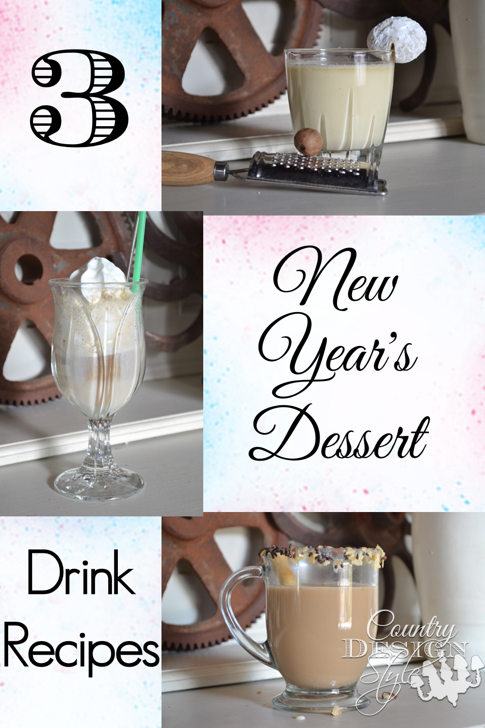 New Years Drink Recipes | Country Design Style | countrydesignstyle.com