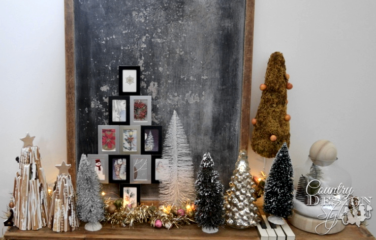 Quick Unique Fireplace Makeover in One Hour | Country Design Style | countrydesignstyle.com