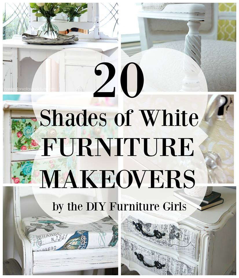 Furniture Makeovers in white
