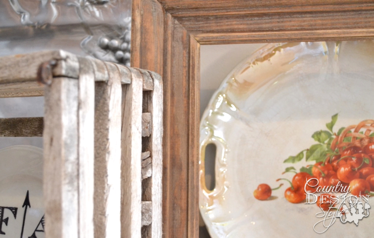 decorating with plates country design style