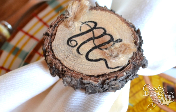 How to Make Wood Slice Tags