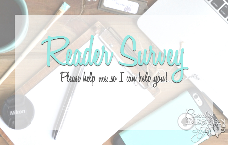 Reader Survey, Help Me So I Can Help you!