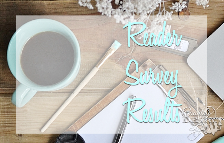 Reader Survey Results | Country Design Style | countrydesignstyle.com