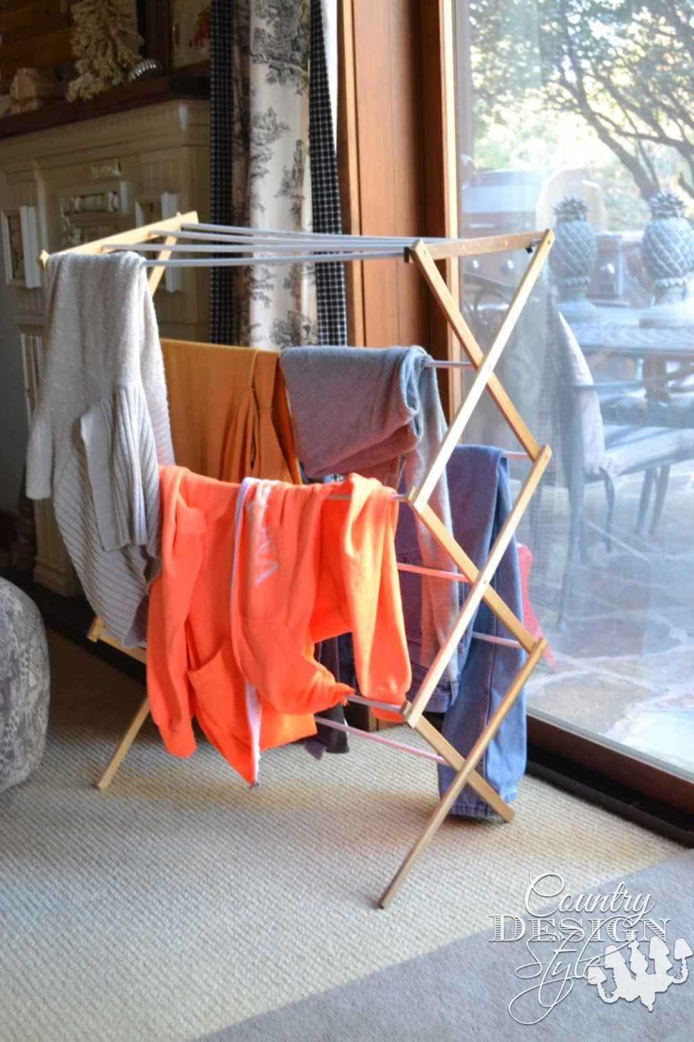 Wonky drying rack | Country Design Style | countrydesignstyle.com