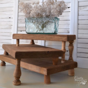 3 Tier Serving Stand | Country Design Style | countrydesignstyle.com