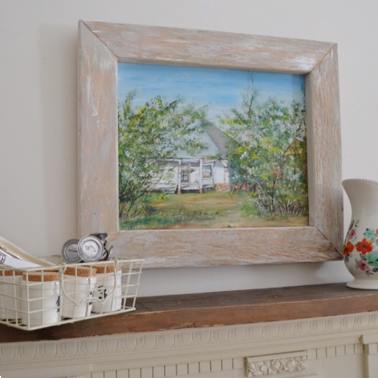 Frame made with 2 by 4 sq   Country Design Style   countrydesignstyle.com