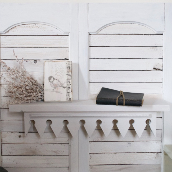 Bella Shelf White | Country Design Style | countrydesignstyle.com