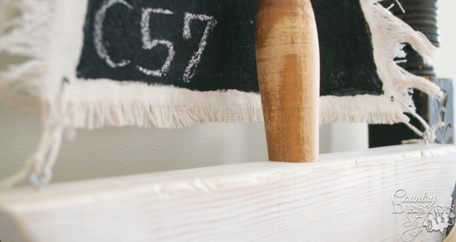 Black Chalkboard Sails Rigging Sails | Country Design Style | countrydesignstyle.com