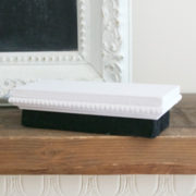 Chalkboard Eraser White | Country Design Style | countrydesignstyle.com
