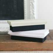 Chalkboard erasers both stacked | Country Design Style | countrydesignstyle.com