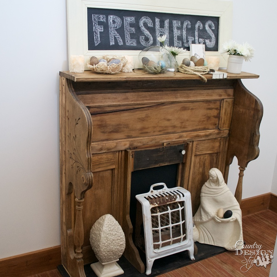 Easter Mantel | Country Design Style | countrydesignstyle.com