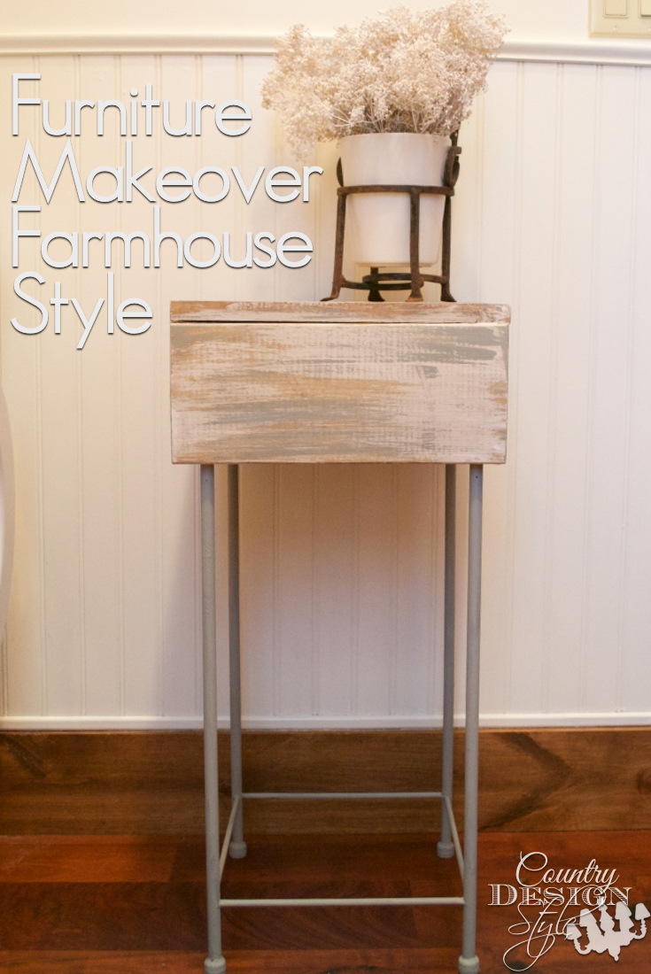 Furniture makeover farmhouse style PN | Country Design Style | countrydesignstyle.ocm