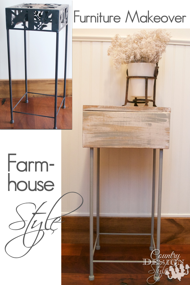 Furniture makeover farmhouse style before and after | Country Design Style | countrydesignstyle.ocm