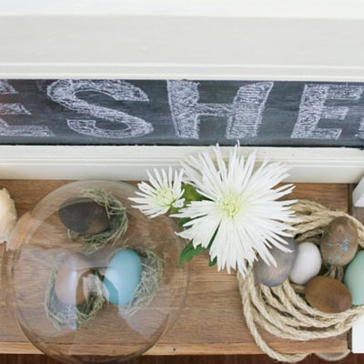 Easter Mantel Ideas and Inspiration