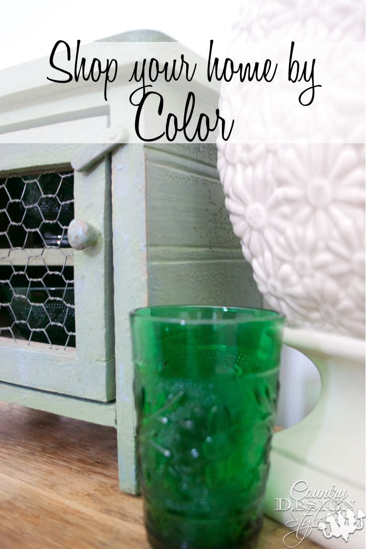 Shop Your Home By Color Pin | Country Design Style | countrydesignstyle.com