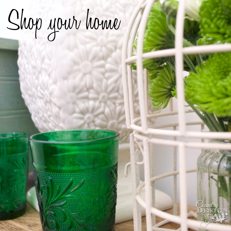 Shop Your Home by Color SQ | Country Design Style | countrydesignstyle.com