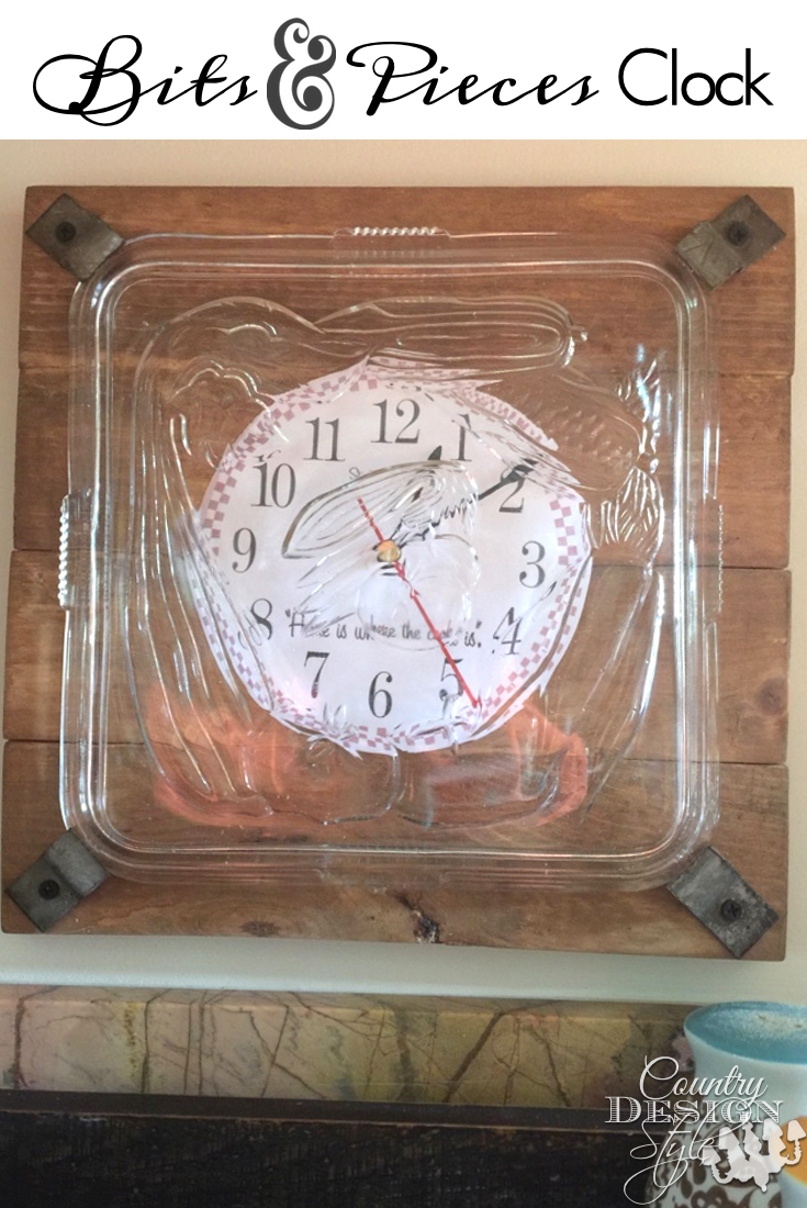Bits and Pieces Clock pn | Country Design Style | countrydesignstyle.com