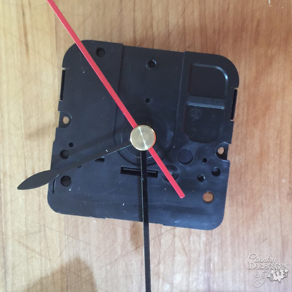 Clock part Bits and Pieces Clock | Country Design Style | countrydesignstyle.com