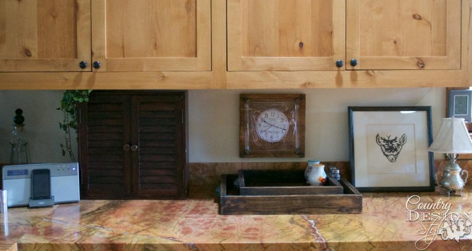 DIY Kitchen Backsplash Idea