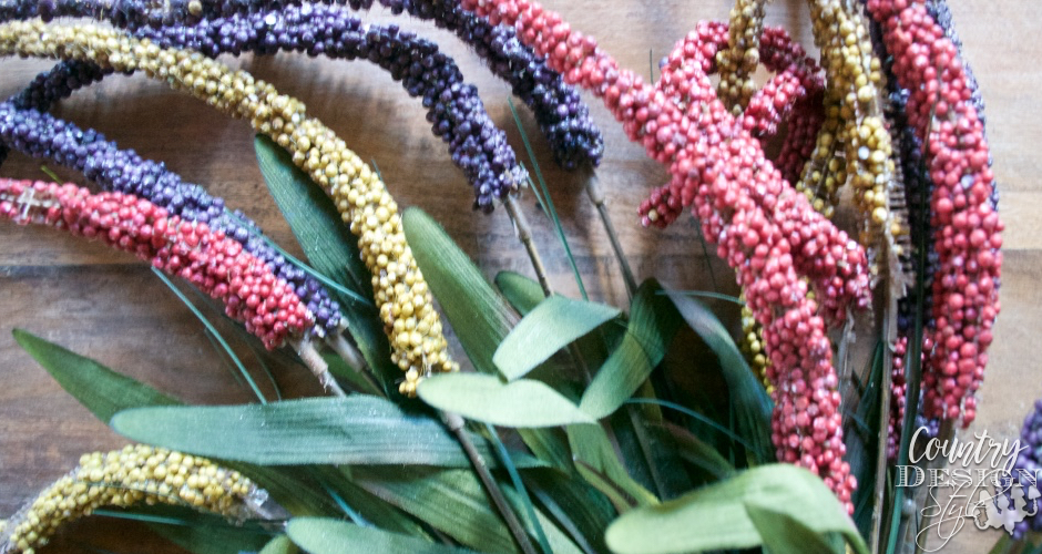 Flower stalks | Country Design Style | countrydesignstyle.com
