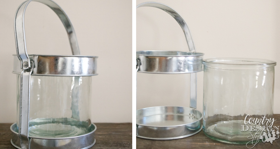 Glass Vase Before | Country Design Style | countrydesignstyle.com