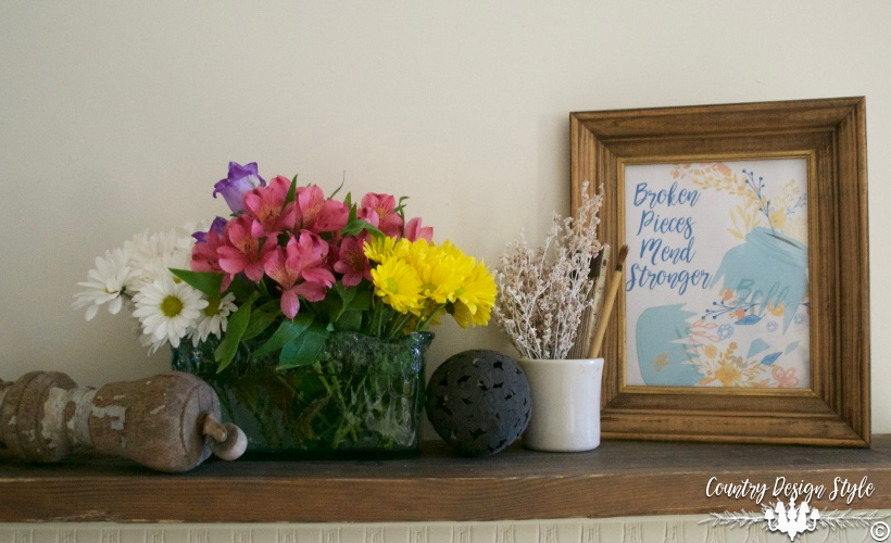 Broken Pieces Mend Stronger 2 | Country Design Style | countrydesignstyle.com