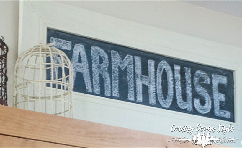 Farmhouse Chalkboard Sign
