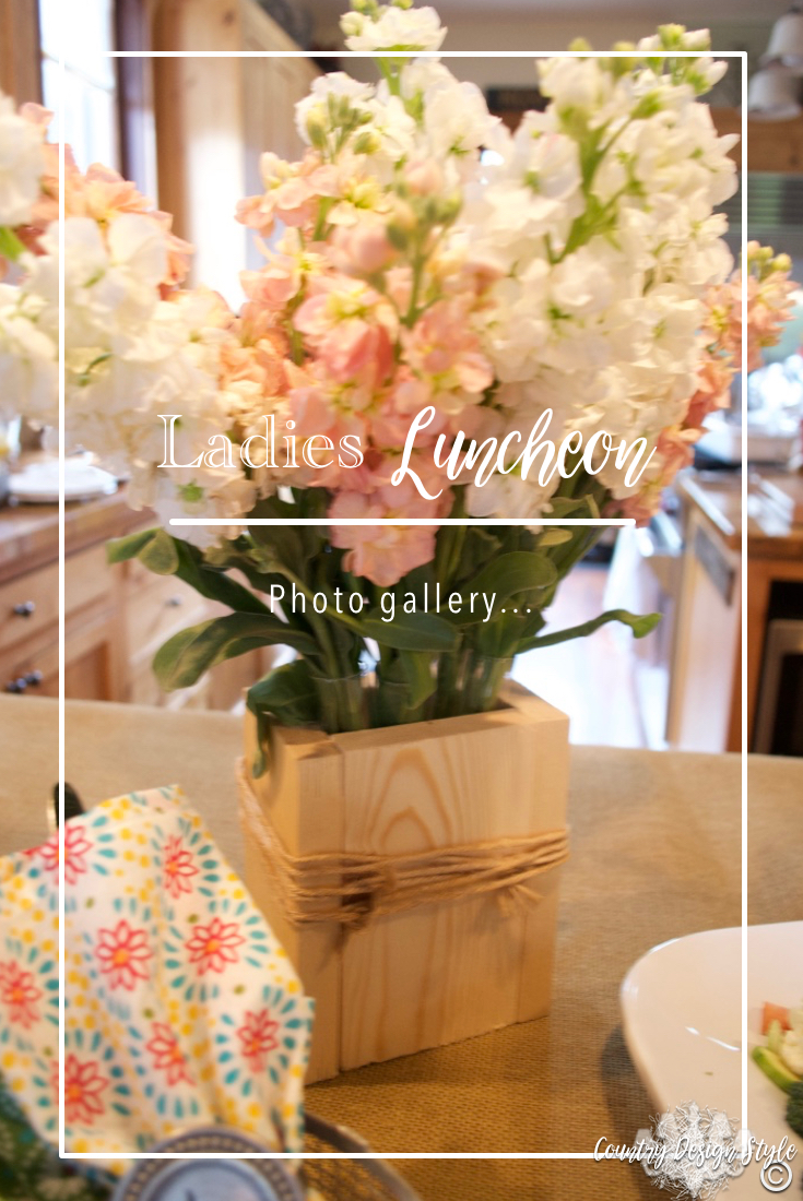 Ladies Luncheon Photos   Country Design Style   countrydesignstyle.com