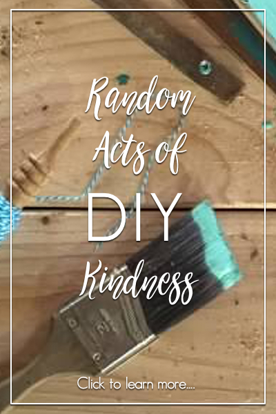 Learn DIY Skills Random Acts | Country Design Style | countrydesignstyle.com